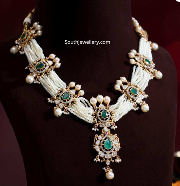 multi strand pearl necklace