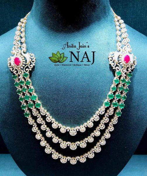 naj jewellery diamond emerald haram