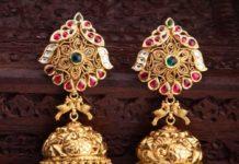 nakshi gold jhumkas
