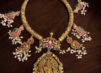 nakshi kante necklace