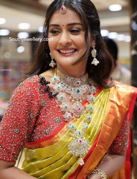 payal rajput diamond jewellery