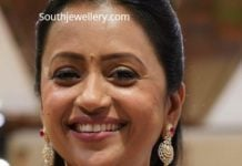 suma kanakala diamond choker and jhumkas