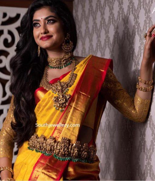 temple jewellery designs 2020