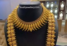 traditional gold jewellery set