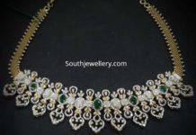 diamond necklace vajra
