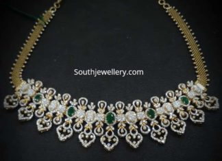 diamond necklace vajra