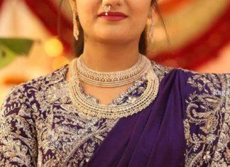 diamond necklace and vaddanam
