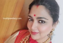 khushbu sundar in a layered mango mala (1)