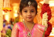 kids half saree jewellery