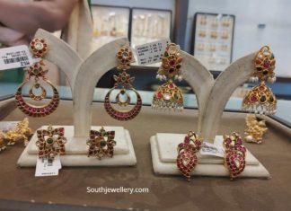 kundan earrings zaveri