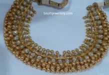kundan tussi necklace