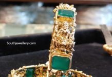 lakshmi bangles with emeralds