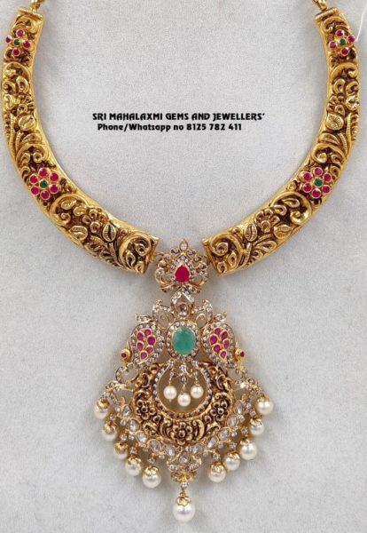 latest kante necklace designs