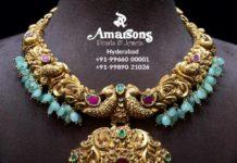 peacock nakshi necklace (5)