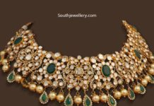 polki diamond and emerald necklace (1)