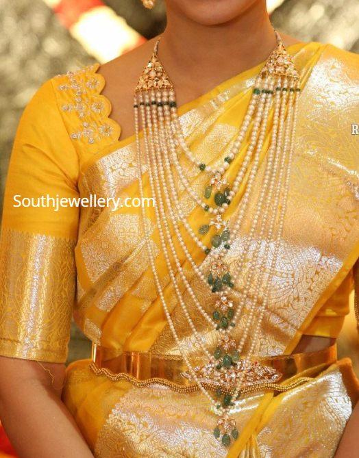 south sea pearl satlada necklace