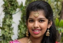 sreeja daughter nivrithi in guttapusalu haram