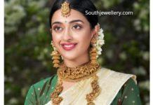 temple jewellery set pmj