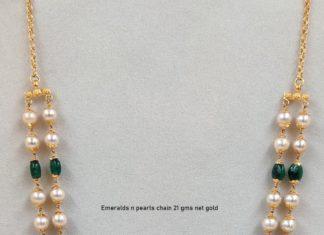 pearl long mala