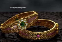 antique gold nakshi bangles