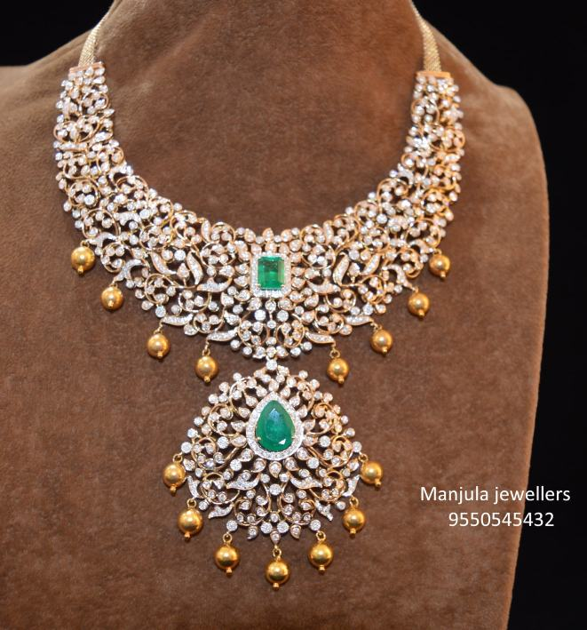 closed setting diamond necklace (5)