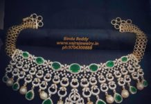 diamond emerald choker (4)