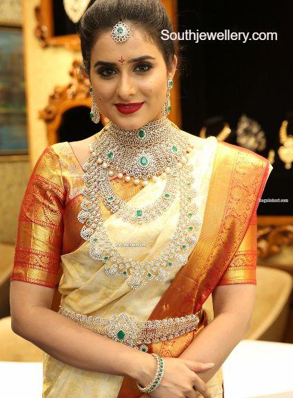 diamond jewellery set bridal (2)