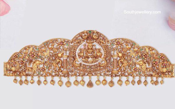 elephant design vaddanam