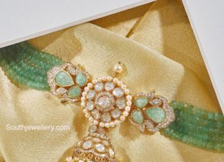 emerald beads choker (3)