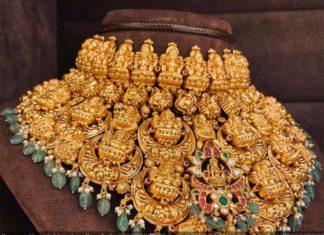 lakshmi bridal choker
