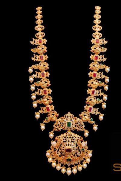 lakshmi peacock haram