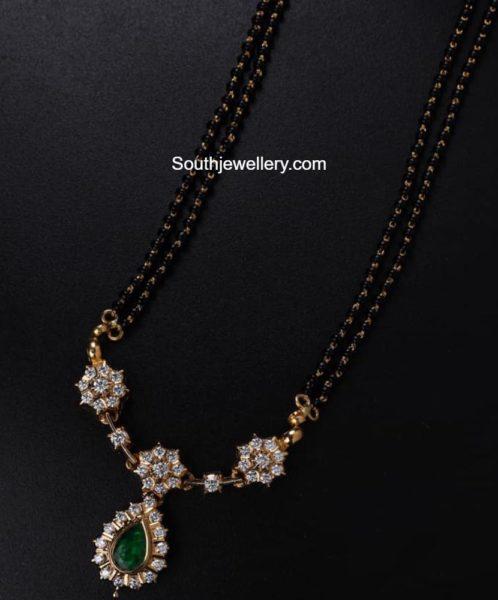 nallapusalu necklace with diamond pendant (1)