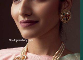 polki navrathan necklace