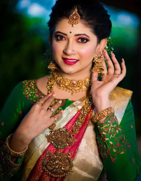 antique gold bridal jewellery aabushan