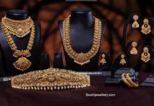 antique gold bridal jewellery set