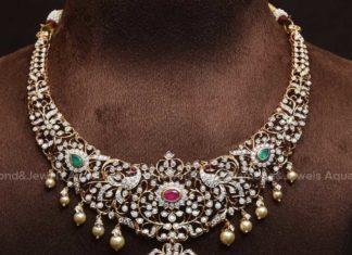 closed setting diamond necklace (8)