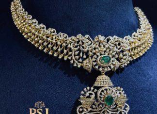 diamond and emerald necklace (1)