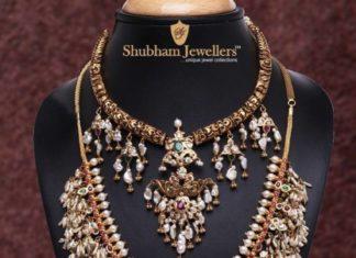 kante necklace and guttapusalu necklace