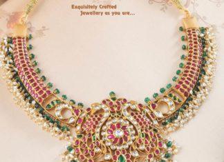 kundan necklace latest designs
