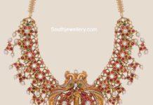 kundan necklace with krishna pendant
