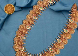 lakshmi gold haram (5)