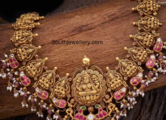 lakshmi guttapusalu necklace designs