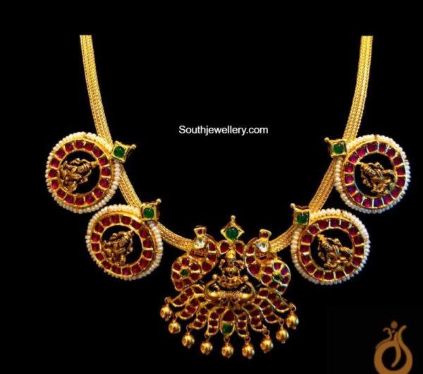 lakshmi kundan necklace (1)