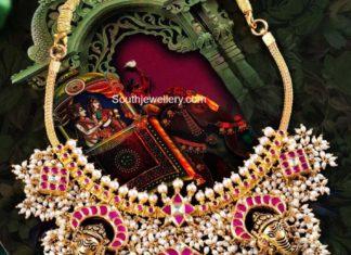 lord ganesh guttapusalu necklace