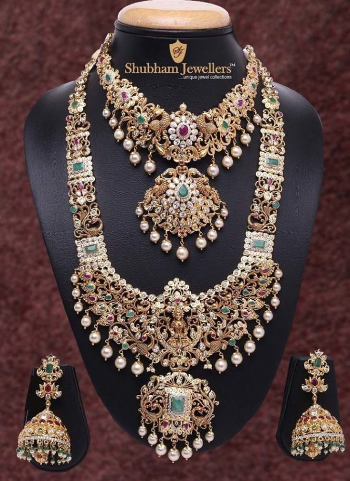 pachi necklace and haram set