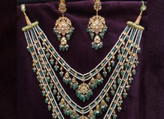 pearl necklace step design
