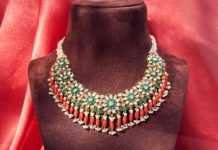 polki diamond necklace set (2)