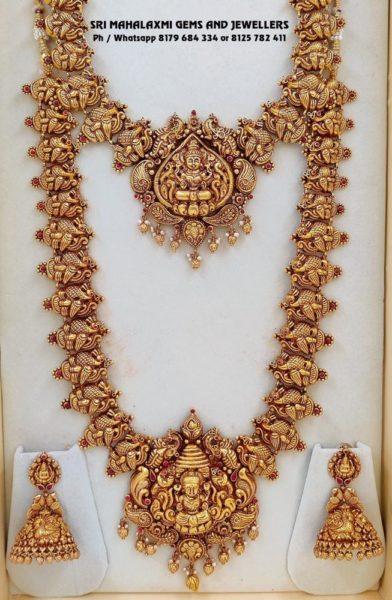 temple jewellery set (4)