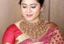 traditional bridal lakshmi choker
