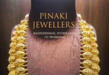 two step lakshmi necklace